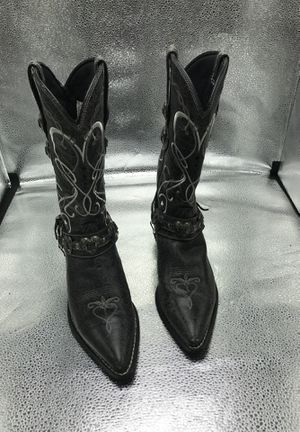 Ladies 7.5 cowboy boots for Sale in Lawrenceville, GA