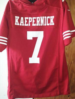 SF 49ers Jersey Kaepernick Size Medium for Sale in Fresno, CA