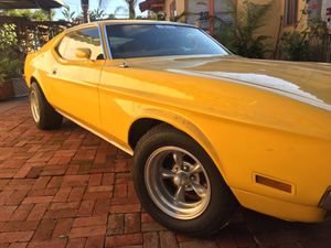 1972 Mustang Fastback Mach 1 for Sale in San Diego, CA