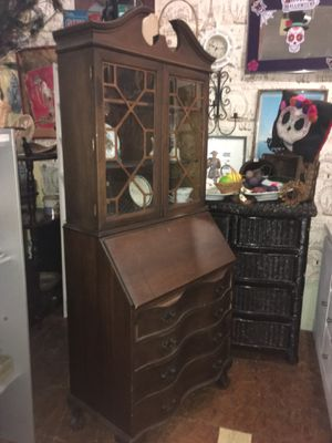 Antique vintage drop front secretary desk for Sale in San Diego, CA