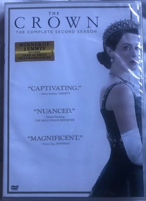 The Crown Season 2 DVD for Sale in Hacienda Heights, CA