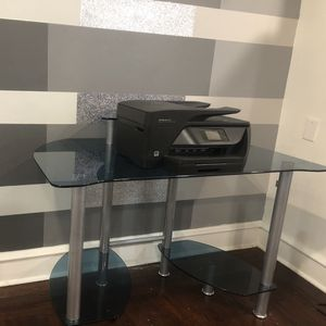 Glass Desk Sold As Is Good Condition. for Sale in Philadelphia, PA
