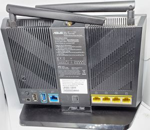 Asus router with two antennae for Sale in College Park, MD