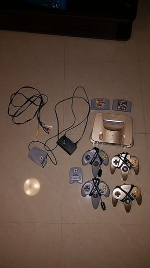 Super Nintendo 64 gold for Sale in Homestead, FL