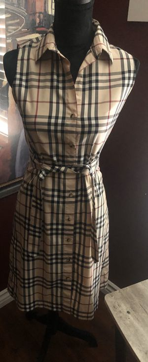 NWOT Burberry Dress for Sale in Perris, CA