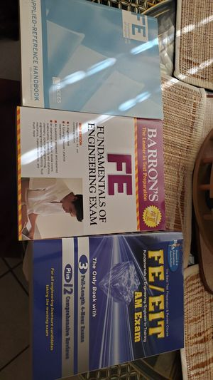 Engineering exam books for Sale in Niceville, FL