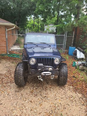 Jeep wrangler tj 2002 for Sale in Houston, TX