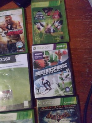 Xbox 360 console game (negotiable) for Sale in Stone Mountain, GA