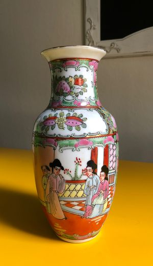 Antique Chinese Hand Painted Porcelain Vase for Sale in Hayward, CA
