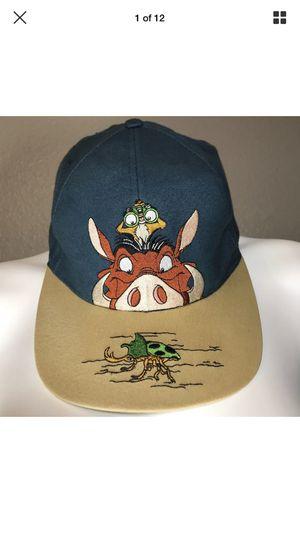 Disney's lion king 1990s (Timon & pumbaa) cap for Sale in Chandler, AZ