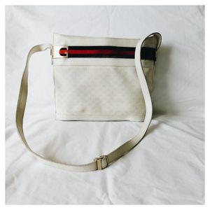 Rare White Vintage Gucci Monogram Web Purse for Sale in Murfreesboro, TN