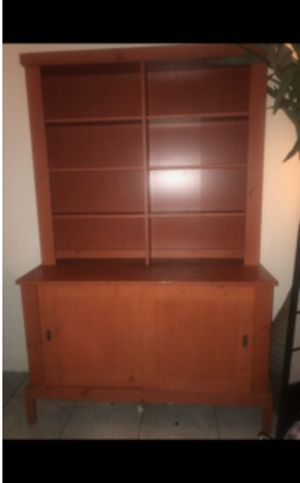 Beautiful cabinet kitchen buffet shelf storage for Sale in Pomona, CA