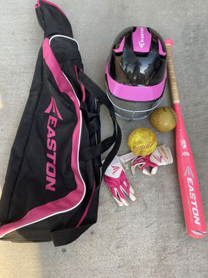 Easton Girls Softball Equipment for Sale in Scottsdale, AZ