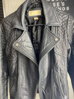 Michael Kors leather Jacket size small for Sale in The Bronx, NY