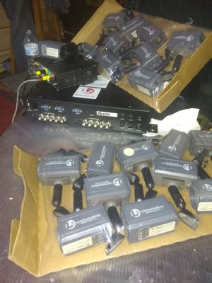 Security cameras DVR an acc. for Sale in Garland, TX
