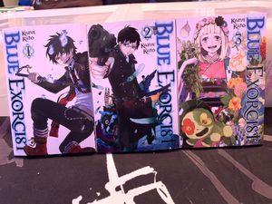 Blue Exorcist Manga Volumes 1-3 for Sale in Cerritos, CA