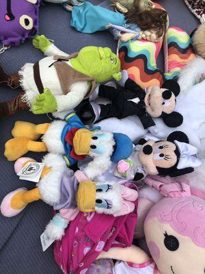 Disney characters (5) for Sale in Orange, CA