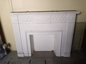 Plaster fire place. Free for Sale in Cleveland, OH