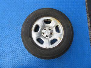 """16"""" Jeep Liberty SINGLE steel wheel rim tire silver #6331 for Sale in Miami, FL"""