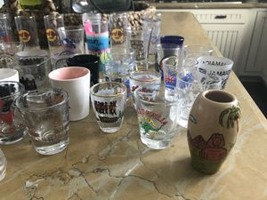 Shot glass glassware collection MAKE OFFER for Sale in Las Vegas, NV