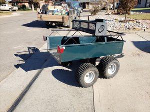 POLARIS/AGRIFAB ATV OFFROAD UTILITY DUMP/TILT BED TRAILER for Sale in Denver, CO