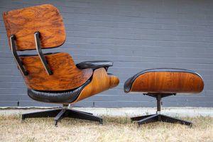 Original Mid Century Modern Herman Miller Rosewood and Ottoman for Sale in Ruston, WA