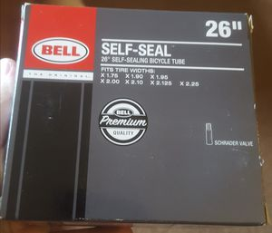 New in box Bell self seal 26 inch bicycle tube for Sale in Puyallup, WA