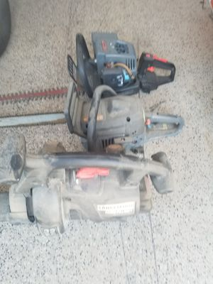 Craftsman gas power blower, chainsaw and headger for Sale in Phoenix, AZ