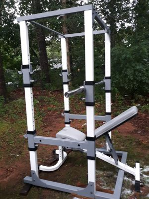 Power system rack and weights for Sale in Suwanee, GA