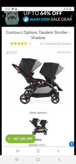 Contours Double Stroller for Sale in Arvada,  CO