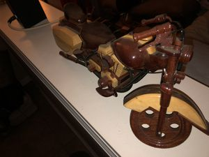 Wooden Motorcycles Harley Replicas Toys Collectibles for Sale in Indianapolis, IN