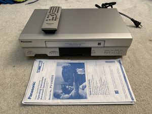 Panasonic VCR for Sale in Richardson, TX