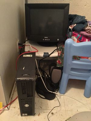 (Parts only) dell computer set for Sale in Overland, MO