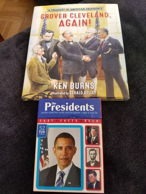 Presidential learning cards and book for Sale in San Francisco, CA