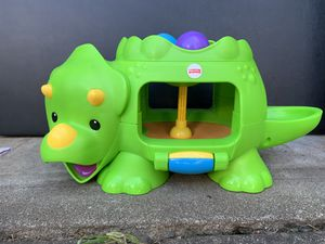 Fisher Price Double Poppin' Dino Toy for Sale in Portland, OR