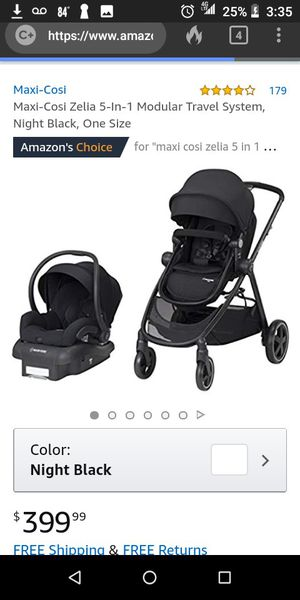 Maxi Cosi {MICO 30} Baby Carseat, Base and Stroller ~ Infant for Sale in Lake Forest, CA