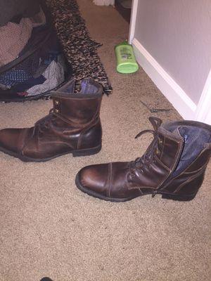 Aldo leather men's boots for Sale in Orlando, FL
