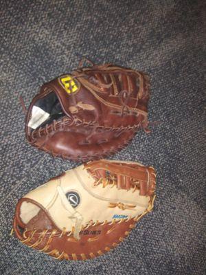 Baseball first base gloves for Sale in Houston, TX