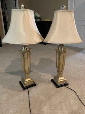 2 table lamps for Sale in San Ramon, CA