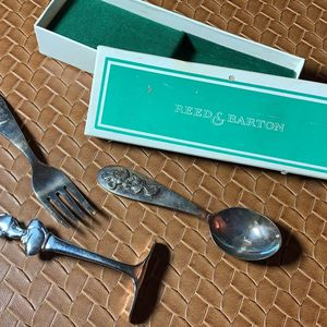 Vintage Mickey Mouse baby food silverware - stainless for Sale in Austin, TX