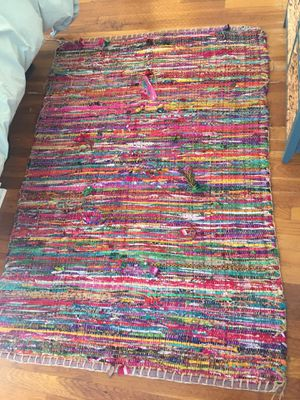 Anthropologie Braided Pinstripe Rug for Sale in Austin, TX