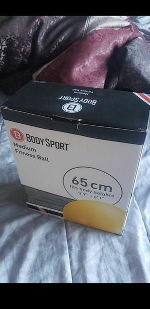 Body Sport Medium fitness ball for Sale in Denver, CO