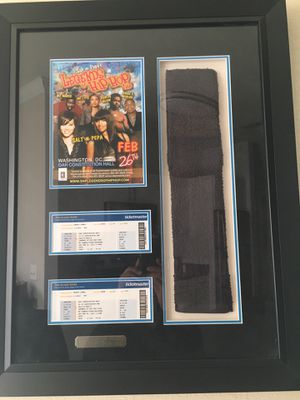 Salt-n-Pepa Framed Collectible Concert Collage for Sale in Alexandria, VA