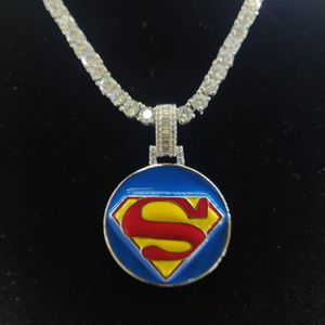 Custom Superman Charm & Tennis Chain for Sale in Tucker, GA