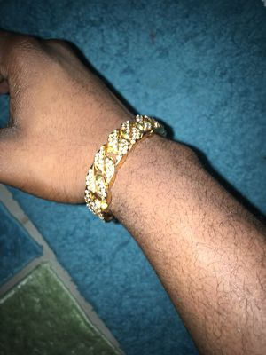 Gold Plated Wrist Chain for Sale in North Bethesda, MD