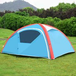 3 Persons Inflatable Camping Waterproof Tent with Bag And Pump Outdoor Use for Sale in Los Angeles,  CA