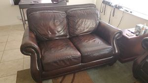 Leather couches for Sale in VLG WELLINGTN, FL