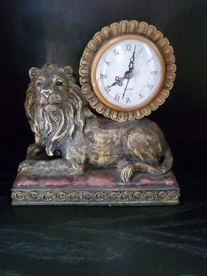 Lion decorative sculptures for Sale in Clarksburg, MD