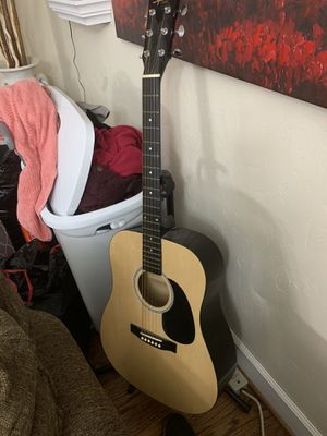 squier acoustic guitar for Sale in Garland, TX