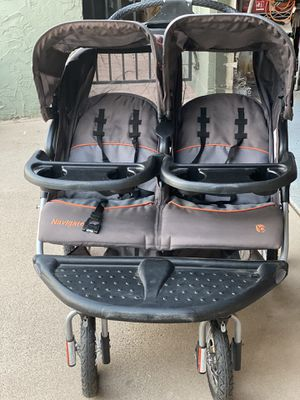 Baby Trend Navigator Jogging Double Stroller for Sale in Scottsdale, AZ